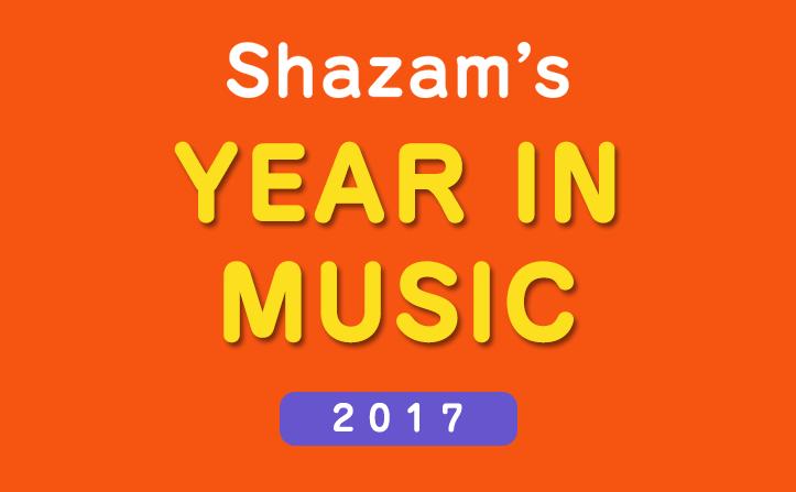 音楽検索アプリ「Shazam」2017年最も検索された15曲を発表!