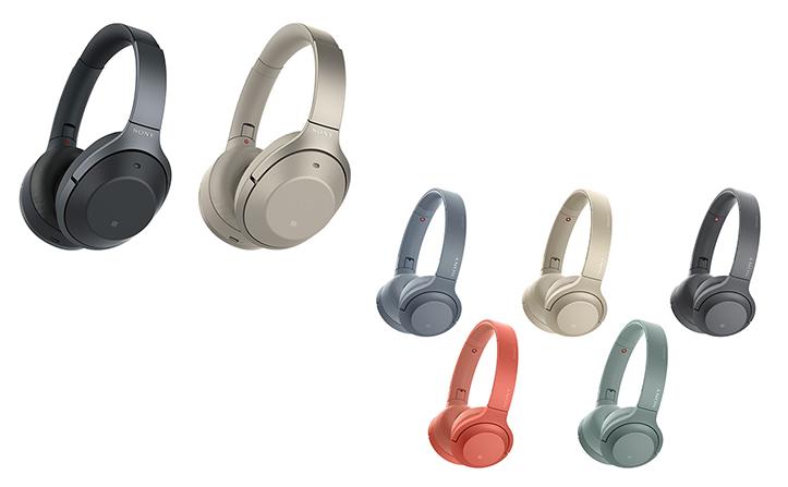 Bluetooth®対応ワイヤレスヘッドホンで最高クラスのノイズキャンセリング性能! ソニーヘッドセット 1000Xシリーズ発売 ~カラーを一新、ファッションに溶け込む新h.ear™シリーズも~