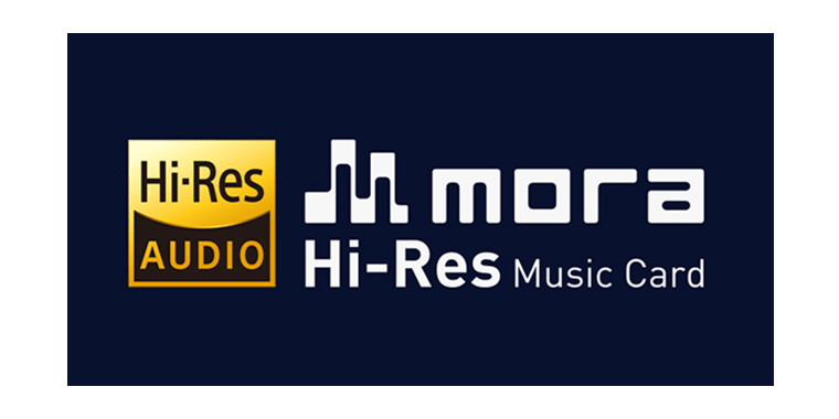 mora Hi-Res Music Card